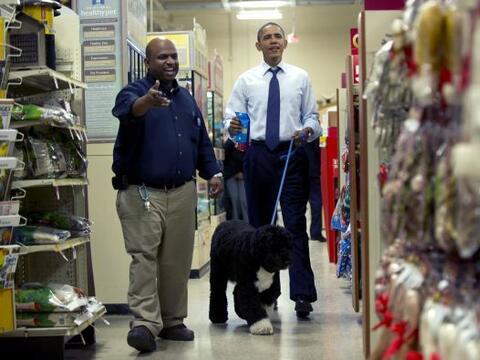 El presidente Barack Obama decidió darse un respiro de sus activi...