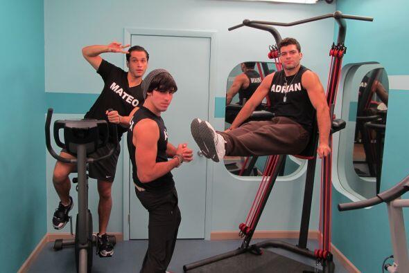 Pasamos al gimnasio, el mejor lugar para algunos.