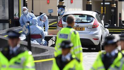 Policía confirma la detención de un británico de 29 años, sospechoso del atropellamiento en Londres