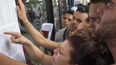 Los primeros grupos de cubanos que salieron ya están en EEUU.