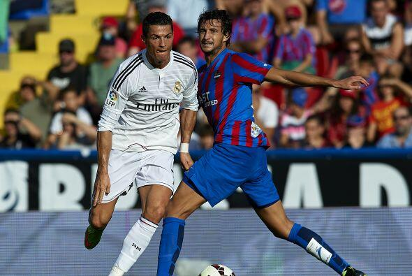 El portugués lleva 15 goles en lo que va de la temporada en España, la m...