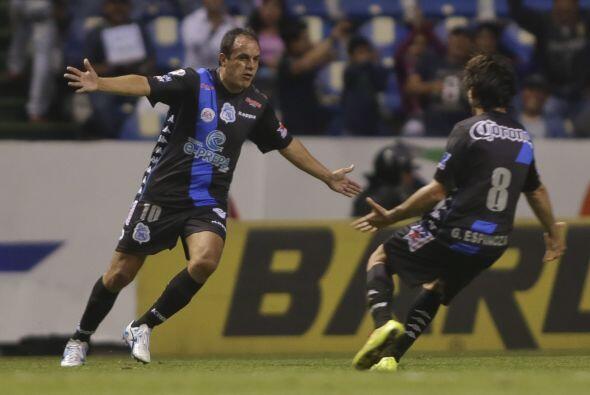 El veterano mexicano sigue regalando pinceladas de buen fútbol con el Pu...