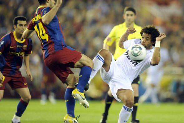 Vaya que si extrañó ver a un Barcelona al que se le complicaba retener e...