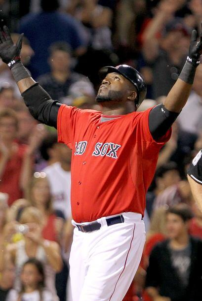 DH. David Ortiz. Medias Rojas de Boston. 'Big Papi' conectó 11 imparable...