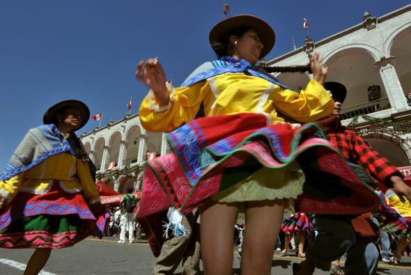 Arequipa celebra un aniversario más de su fundación con fiestas en todos...
