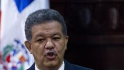 El gobernante dominicano llega al término de su gestión con una baja en...