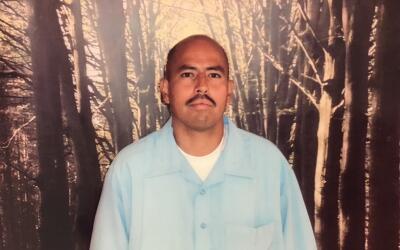 David Díaz en la cárcel estatal Pleasant Valley, en el condado de Fresno...
