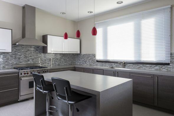 Aprovecha la luz solar. Los grises fríos funcionan mejor en habitaciones...