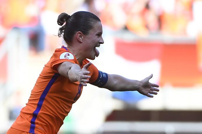 15. Sherida Spitse (Holanda / F.C. Twente) - 8 puntos
