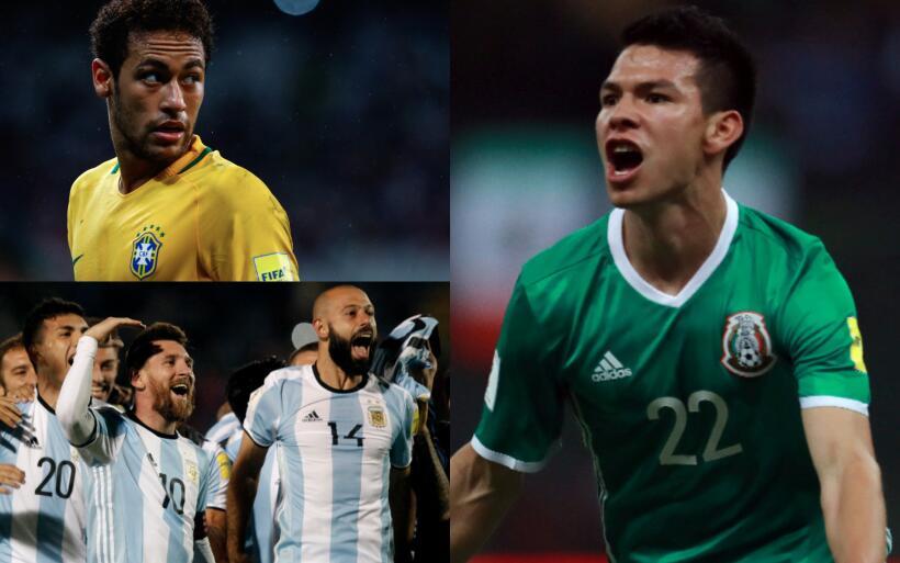 Brasil y otros rivales que el Tri no quisiera encontrarse en el Mundial...