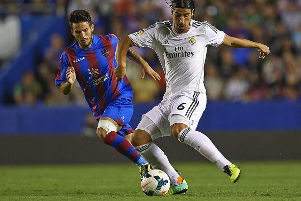Intentó más en el descuento el Madrid.