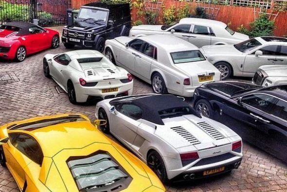 Tienen autos para cad afin de semana.   Foto credito: Instagram