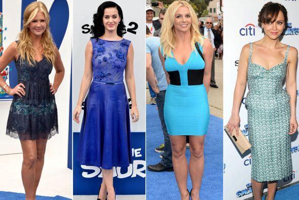 Katy Perry, Britney Spears y Christina Ricci fueron las belleza que dota...