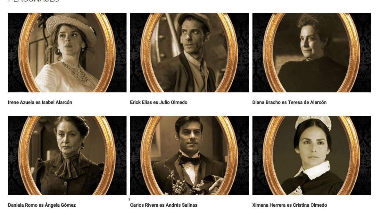 Personajes de El Hotel de los Secretos