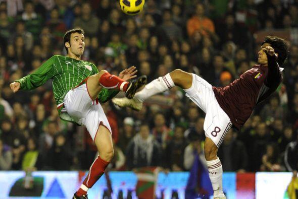 La Selección Vasca aprovechó las oportunidades para remontar el marcador...