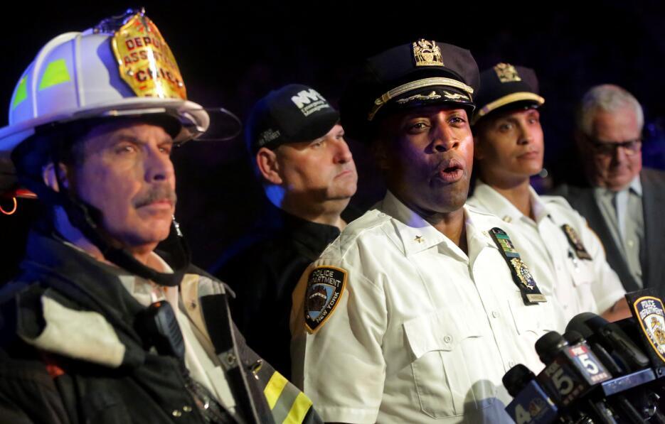 El subcomisionado del NYPD, Rodney Harrison, aclaró detalles del rescate.