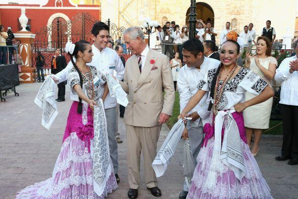 Lo mejor llegó en la plaza principal de Campeche.