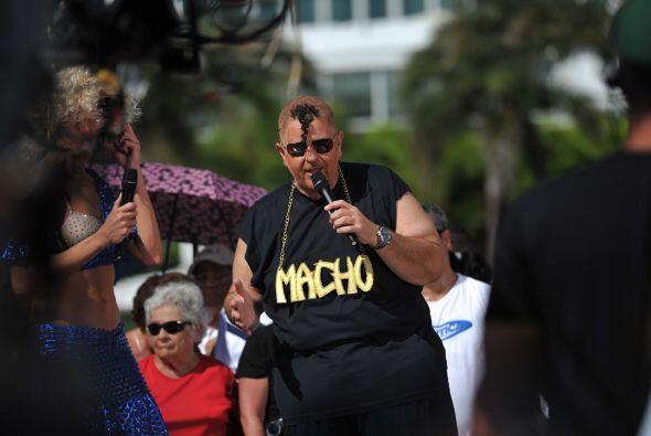 Este año Raúl estuvo tanto hablando de El 'Macho' Camacho que no sólo se...