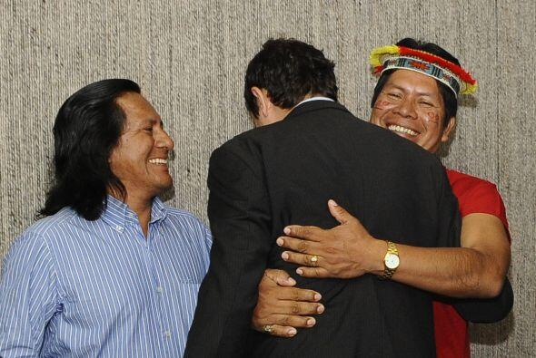 Alrededor de 30,000 pobladores de las provincias de Orellana y Sucumbíos...