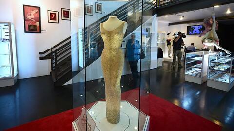 Vestido de Monroe se subasta en US$ 4.8 millones