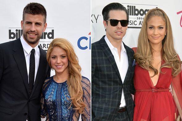 """Y en duelo de parejitas """"hot"""", estuvieron Piqué y Shakira junto a Casper..."""