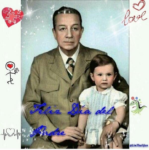 Thalía ya no está junto a su padre pero así fue como lo recordó en su dí...