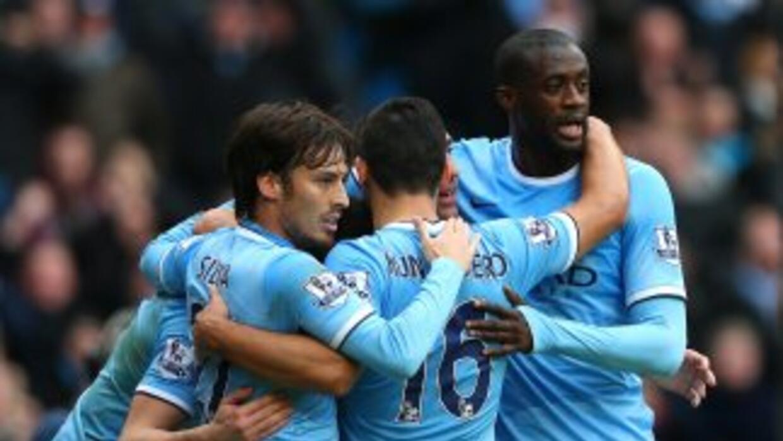 Manchester City fue una aplanadora contra Arsenal.