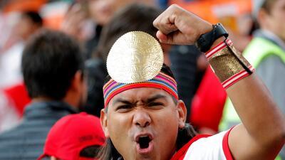 El imperio inca conquista a Rusia en el partido de Perú contra Francia