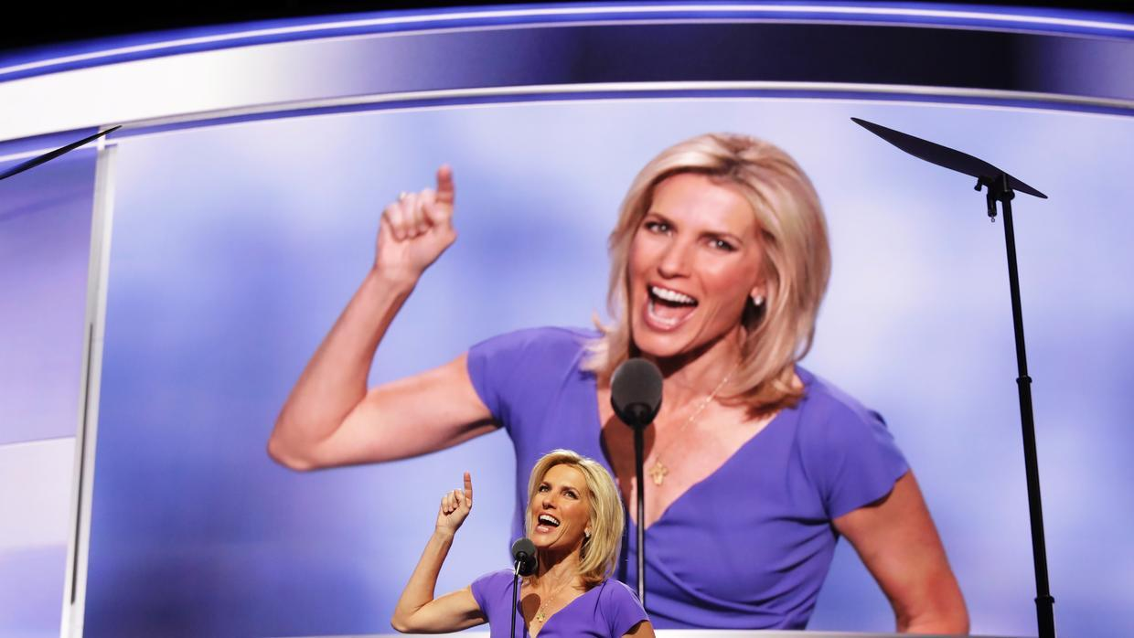 Laura Ingraham during the Republican National Convention.