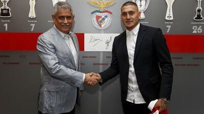Benfica ficha al delantero Nicolás Castillo ex de Pumas