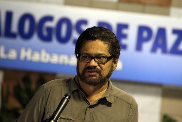 El jefe del equipo negociador de las FARC en los diálogos de paz, Lucian...