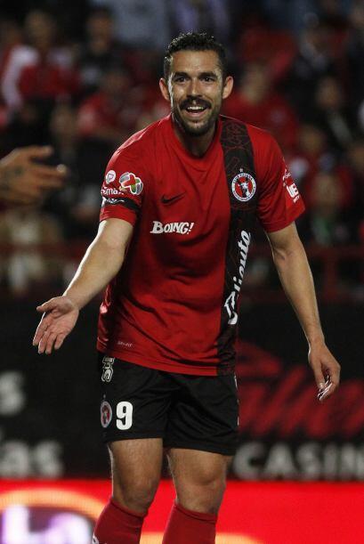 El delantero Hérculez Gómez fue campeón con Santos en el Clausura 2012....