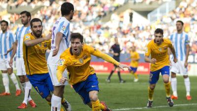 Messi y Munir anotaron los goles del Barça