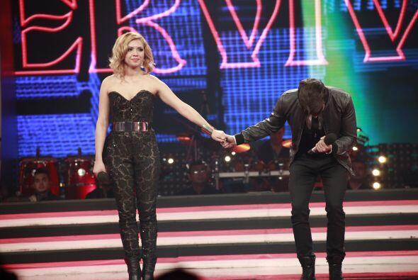 Y finalmente, la venció y se convirtió en el cuarto finalista del show.