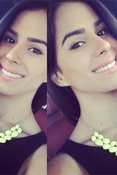 Vanessa nunca ha perdido la sonrisa que la caracteriza.