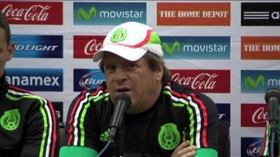 'Piojo' Herrera: ''La base que dejó el Mundial es la que irá la Copa Oro''