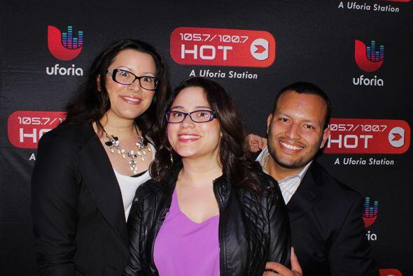 Bay Area! Hot 1057 is OFFICIALLY here! Thanks for coming out and helping...