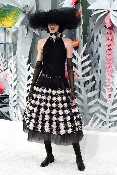 Los detalles tridimensionales en las faldas, llamaron mucho la atención...
