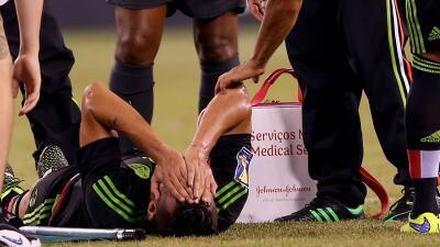 El defensor sufrió una lesión en el duelo ante Costa Rica