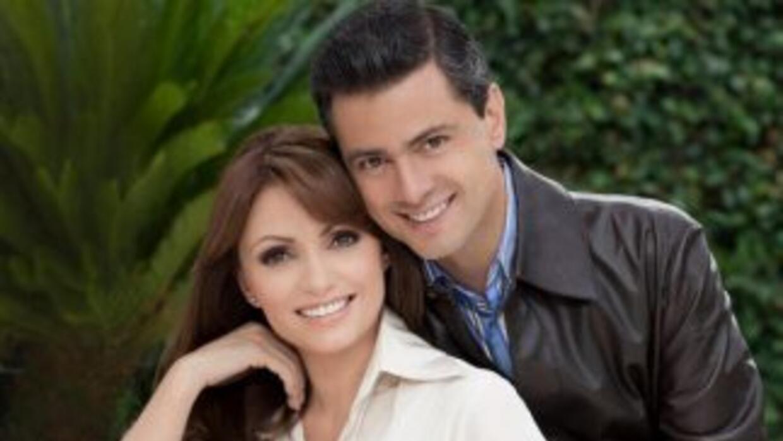 Angélica y Peña Nieto en busca de la Presidencia.