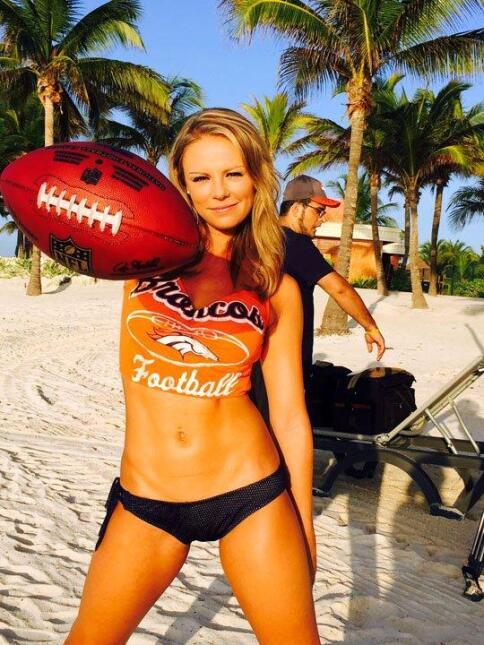 Estas hermosas porristas de los Broncos hicieron su calendario 2016  en...