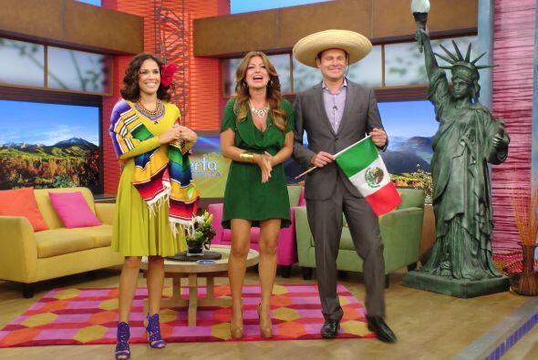 Alan regresó de sus vacaciones en un día muy especial para los mexicanos.