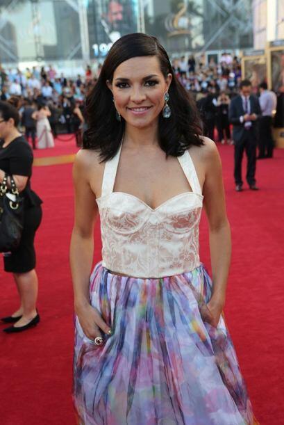 El escote puede venir en varias formas, como en esta blusa estilo corset.