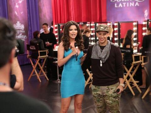 El cantante puertorriqueño fue el invitado de lujo de la primera...