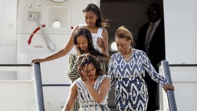 Michelle Obama cierra en España gira para impulsar el acceso de niñas a la educación