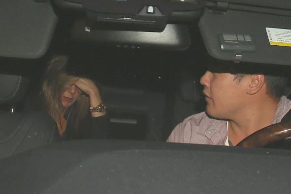 La actriz se disponía a encontrarse con sus amigas Courteney Cox...