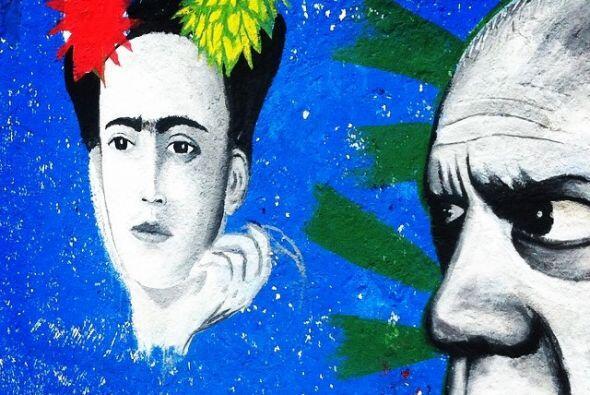 Frida y Picaso en Av Tlahuac, DF  Fotos por usuarios de Instagram