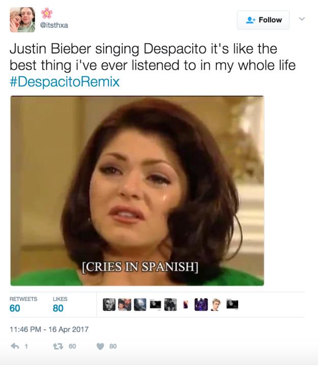 """Justin Bieber canta en español """"Despacito"""", en un """"remix"""" con Luis Fonsi..."""
