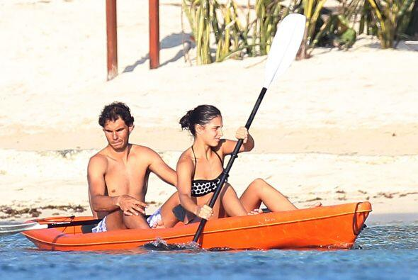 Antes de partir a Indian Wells, Nadal se fue a las playas mexicanas a re...