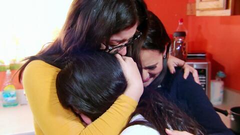 El Ángel de la Justicia volvió a unir a estas hermanas con su madre depo...